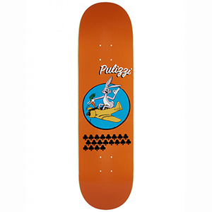 Pizza Pullizzi WW3 Skateboard Deck 8.25