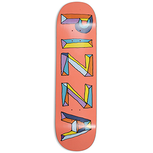 Pizza Stained Glass Skateboard Deck 8.5