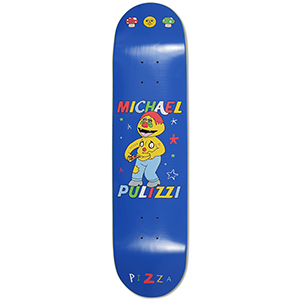 Pizza Stay Fresh Pulizzi Skateboard Deck 8.1