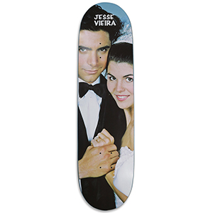 Pizza Vieira Uncle Jesse Skateboard Deck 8.375