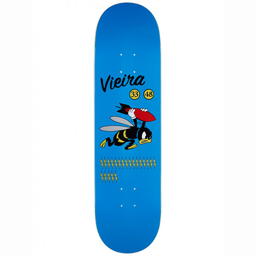 Pizza Vieira WW3 Skateboard Deck 8.375