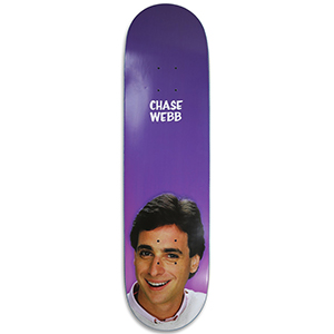 Pizza Webb Tanner Skateboard Deck 8.25