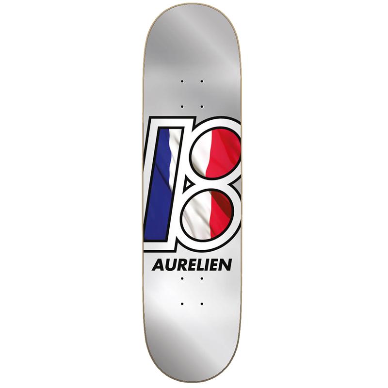 Plan B Aurelien Giraud Blobal Skateboard Deck 8.0