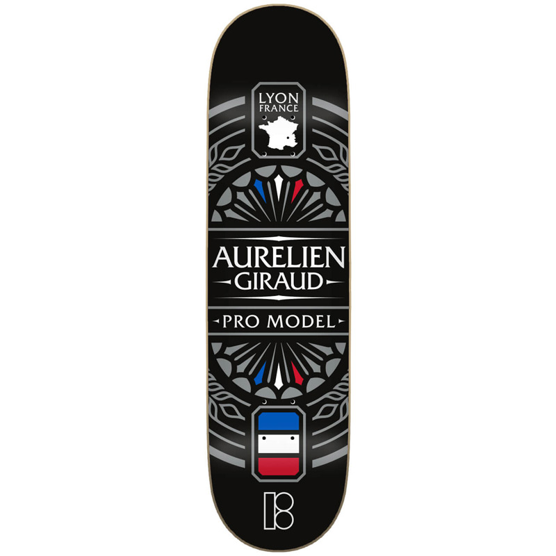 Plan B Aurelien Lyon Skateboard Deck 8.0
