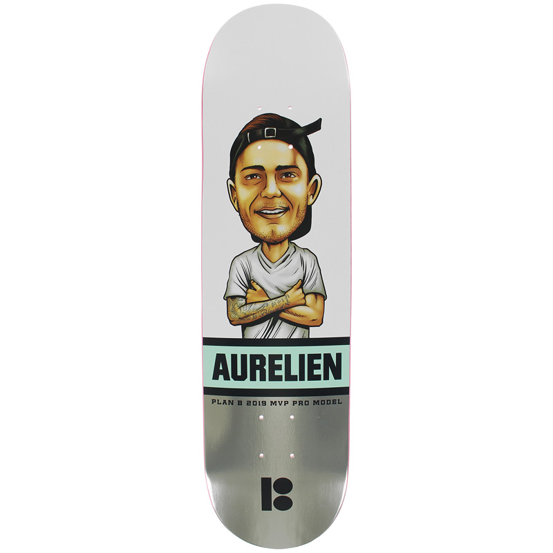 Plan B Aurelien MVP Skateboard Deck 8.0