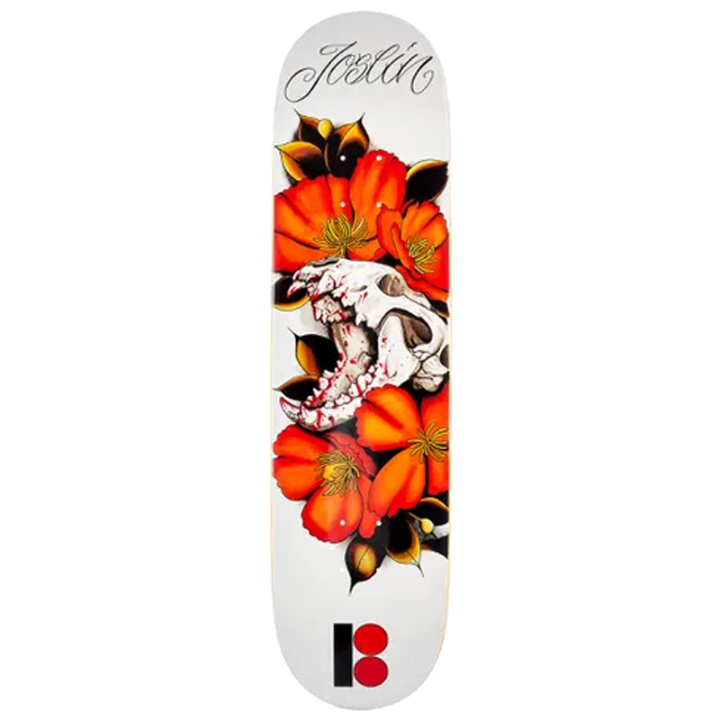 Plan B Chris Joslin Cranial Skateboard Deck 8.125