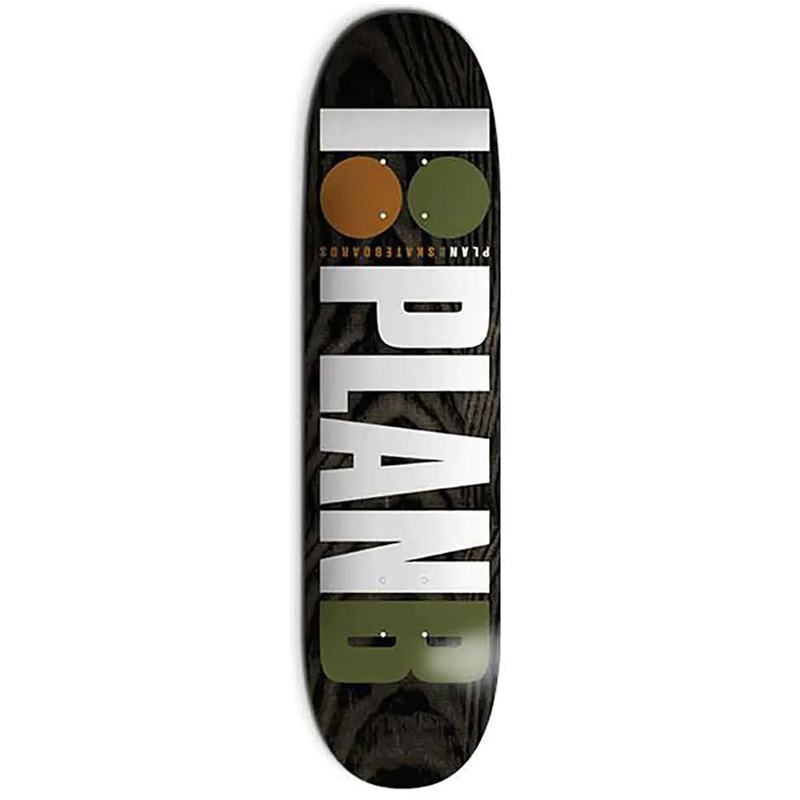Plan B Duffy Team OG Skateboard Deck 8.25