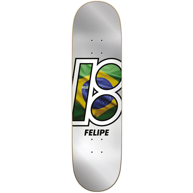 Plan B Felipe Global Skateboard Deck 7.75