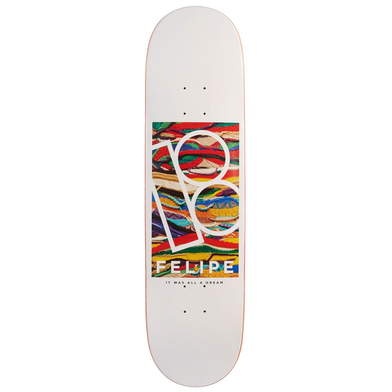 Plan B Felipe Gustavo Koogie Skateboard Deck 8.25