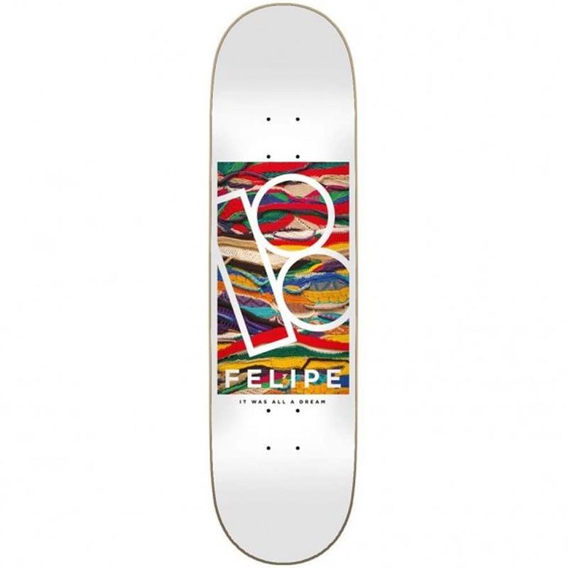 Plan B Felipe Koogie Skateboard Deck 8.0