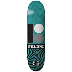 Plan B Felipe Og Rmx P2 Skateboard Deck 7.6