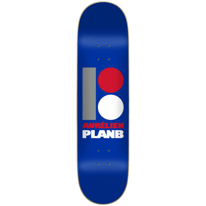 Plan B OG Aurelien Skateboard Deck 8.0
