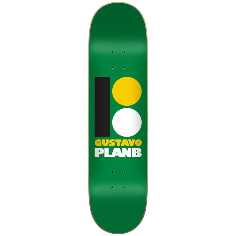 Plan B OG Gustavo Skateboard Deck 7.75