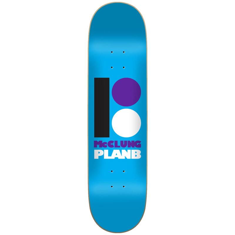 Plan B OG McClung Skateboard Deck 8.125