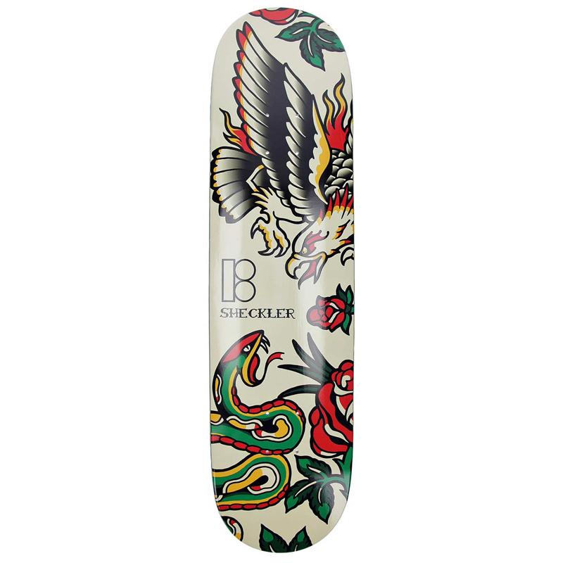 Plan B Ryan Sheckler Traditional Skateboard Deck 8.0
