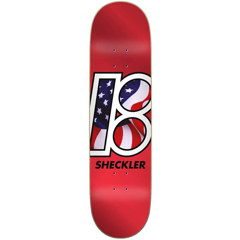 Plan B Sheckler Global Skateboard Deck 8.0