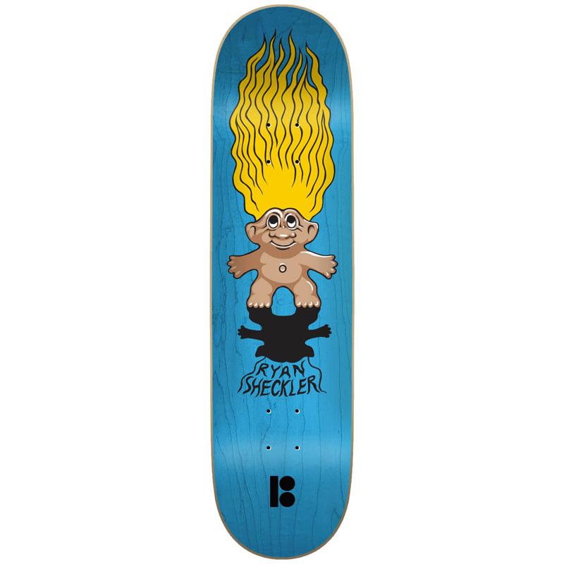 Plan B Sheckler Trolls Skateboard Deck 8.0