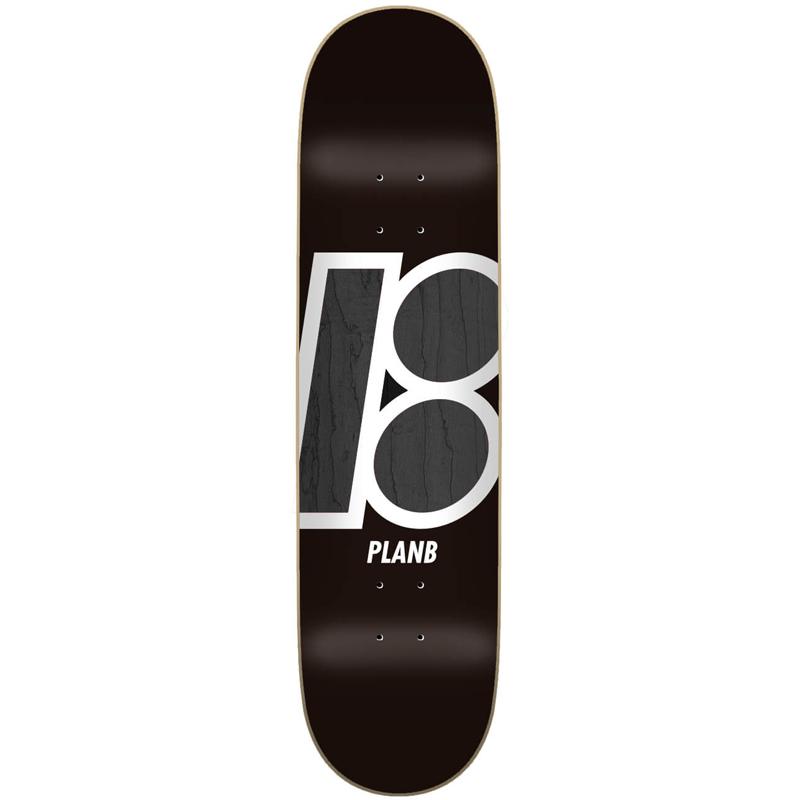 Plan B Team Stain Skateboard Deck 8.0