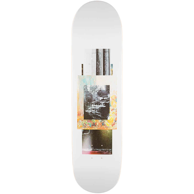Poetic Collage 2 Skateboard Deck 8.25