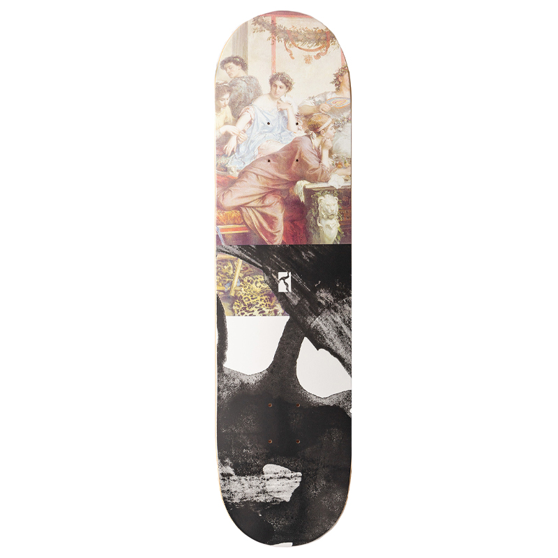 Poetic Half And Half 1 Skateboard Deck 8.0