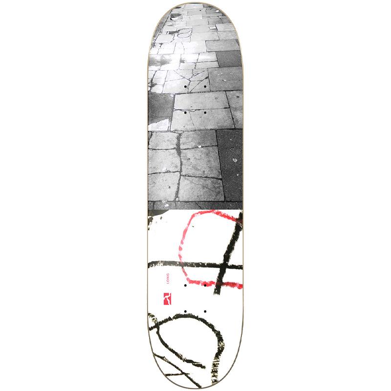 Poetic Long Skateboard Deck 8.25