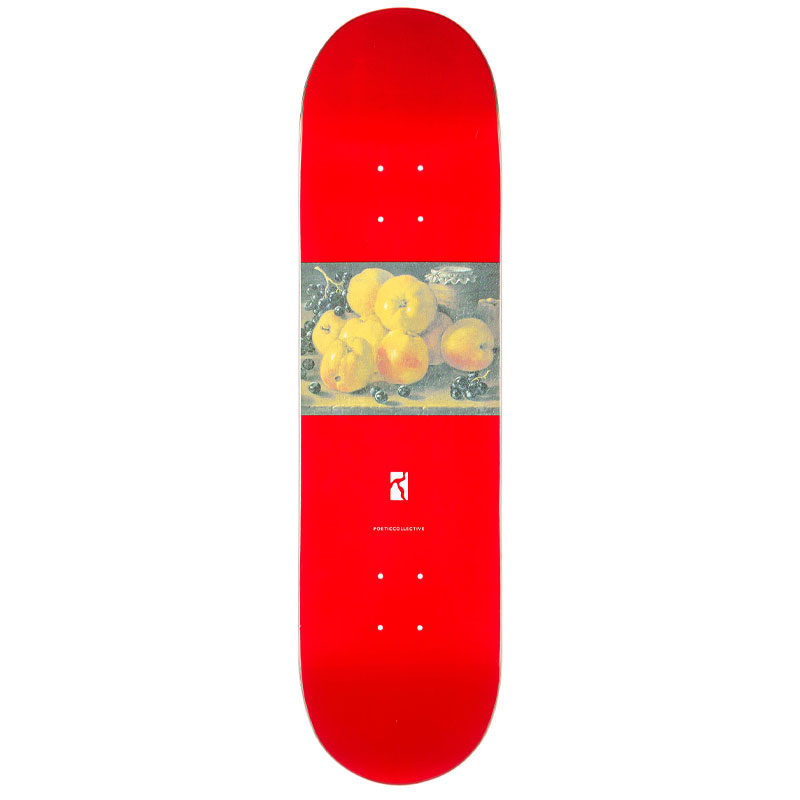 Poetic Still Life #1 Skateboard Deck 8.125