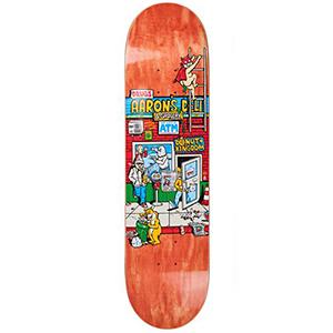 Polar Aaron Herrington Aaron's Deli Skateboard Deck Assorted Colours 8.125