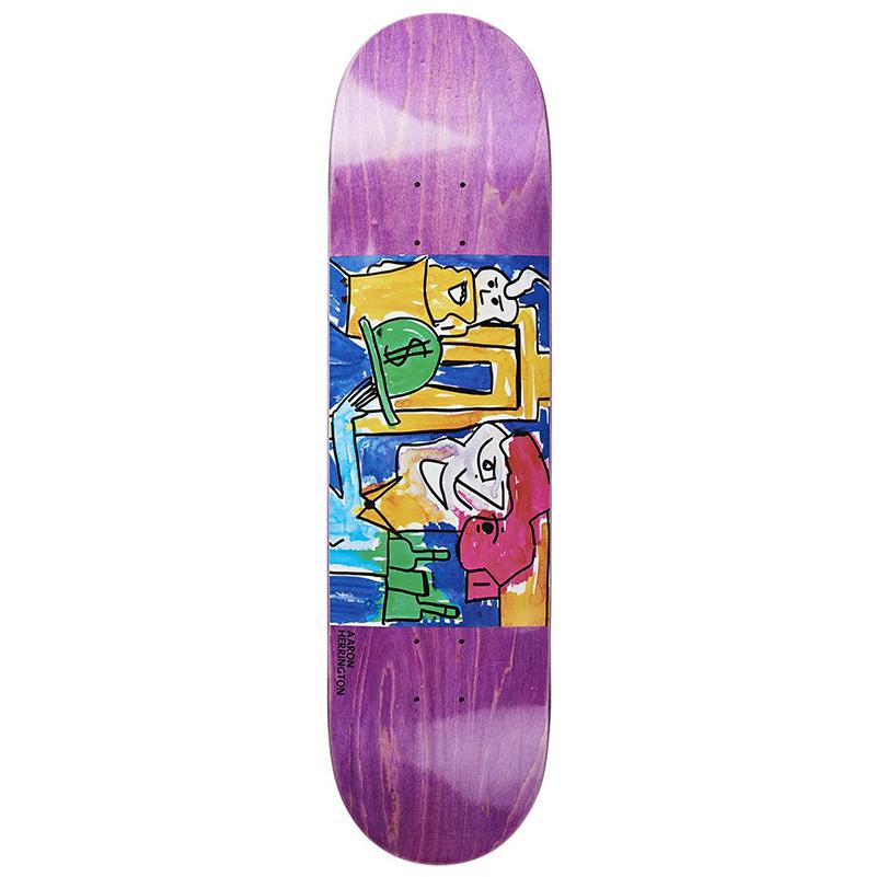 Polar Aaron Herrington Debacle Skateboard Deck 8.125