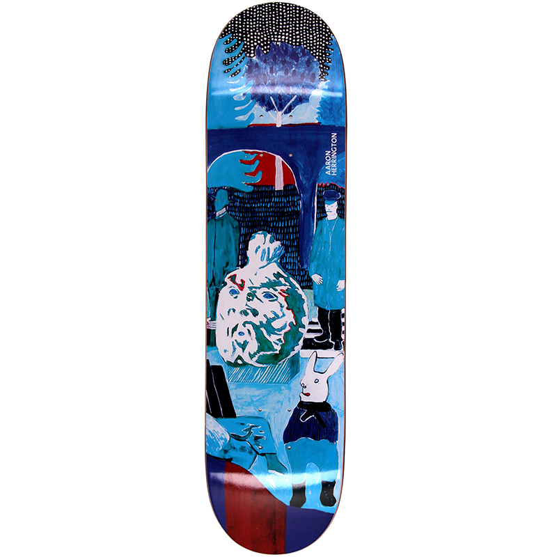 Polar Aaron Herrington Dreamer Skateboard Deck 8.5
