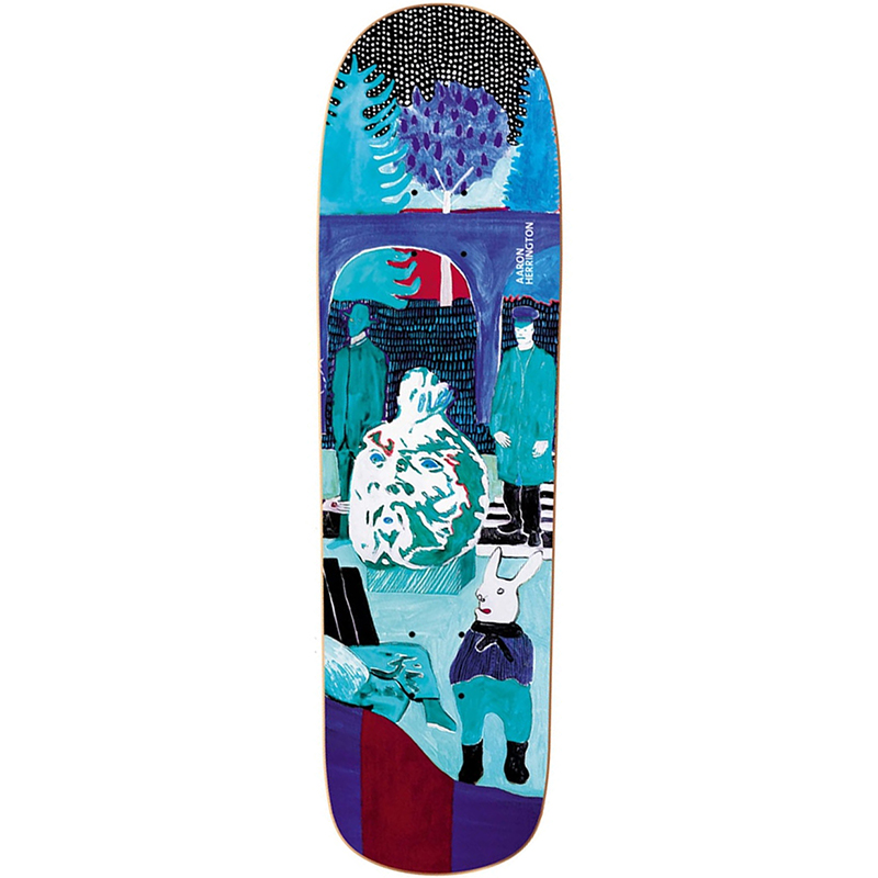 Polar Aaron Herrington Dreamer Skateboard Deck P8 Shape 8.8