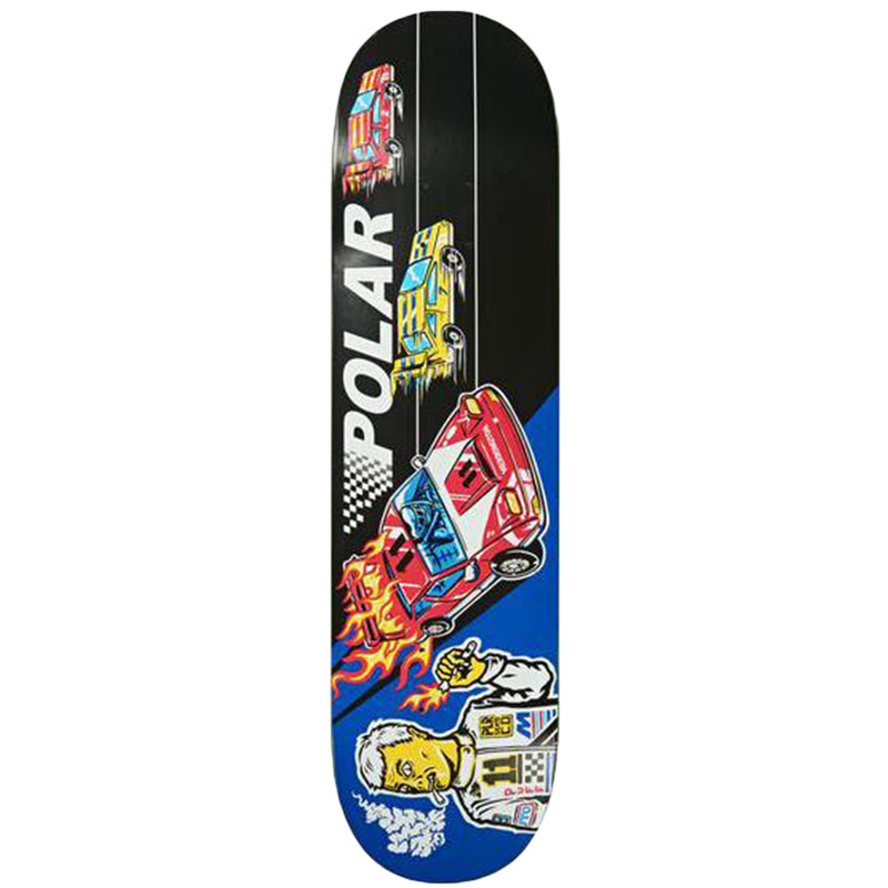 Polar Aaron Herrington Reptilian Racer Skateboard Deck 8.25