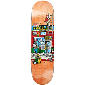 Polar Aaron's Deli Skateboard Deck Assorted Colours Assorted Colours 8.25