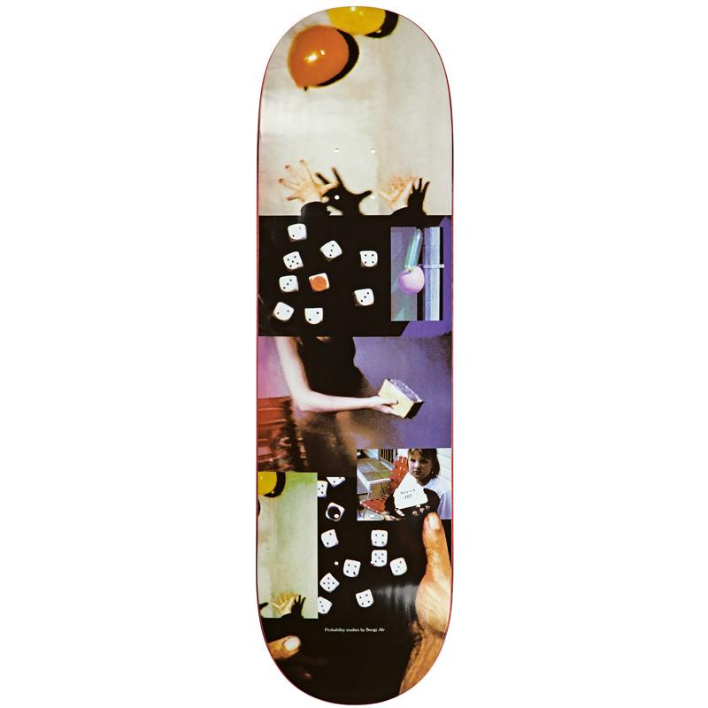 Polar Bengt Alv Probability Studies Skateboard Deck 9.0