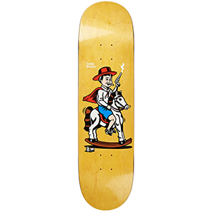 Polar Dane Brady Cowboy Skateboard Deck Assorted Colours 8.0