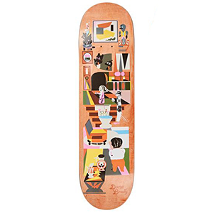 Polar Dane Brady Hypergamy Skateboard Deck Assorted Colours 8.5