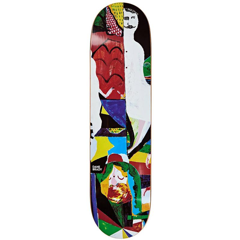 Polar Dane Brady Memory Palace Skateboard Deck 8.125