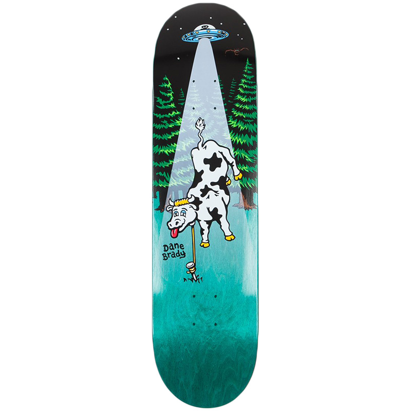 Polar Dane Brady Poker Night Skateboard Deck 8.125