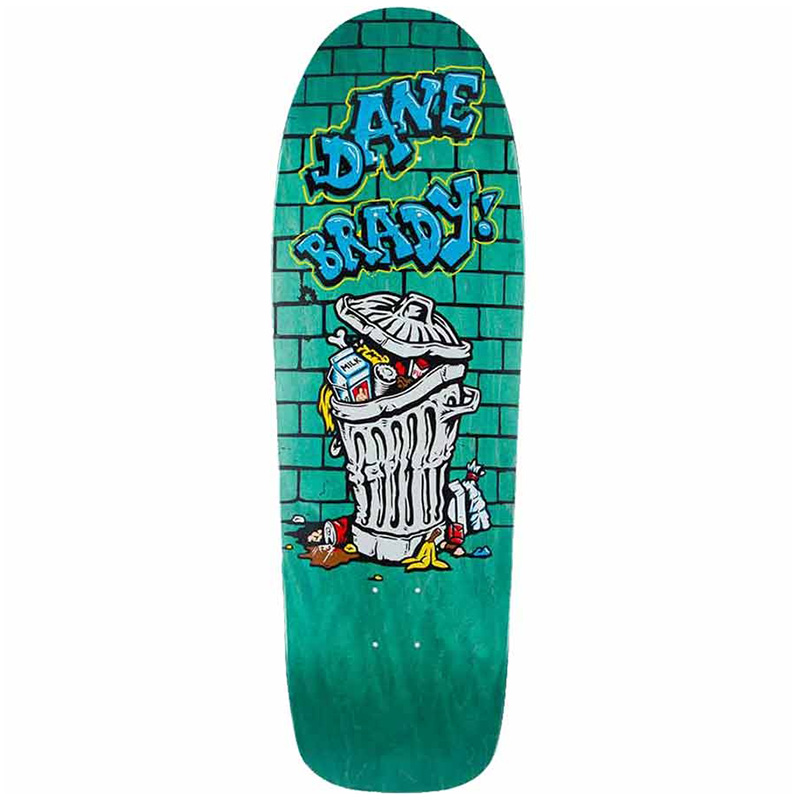 Polar Dane Brady Thrash Can Dane 1 Skateboard Deck 9.75