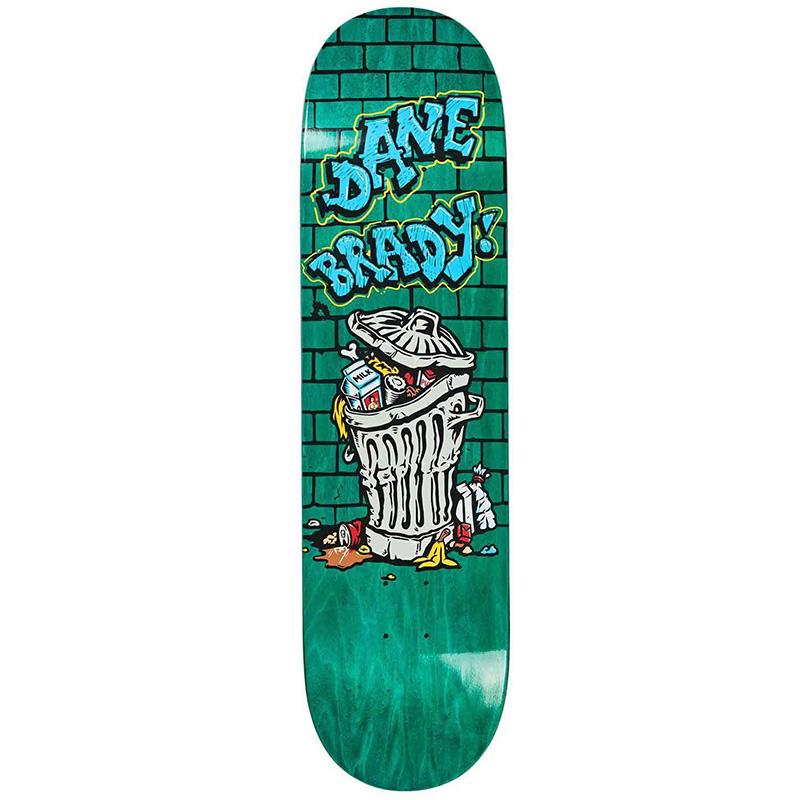 Polar Dane Brady Thrash Can Skateboard Deck 8.38