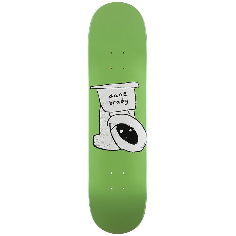 Polar Dane Brady Toilet Skateboard Deck 8.38