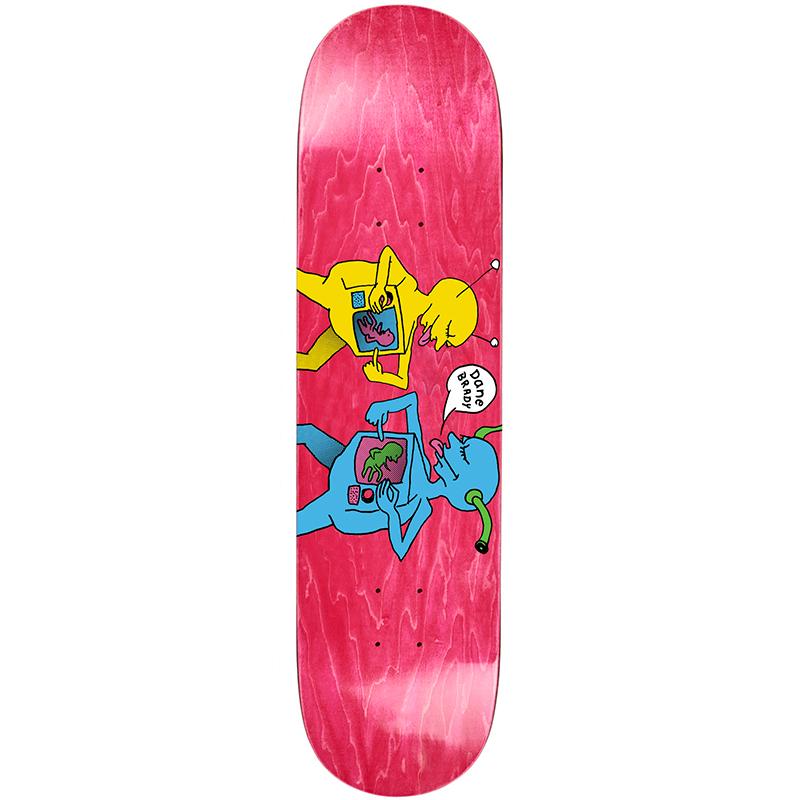 Polar Dane Brady TV Kid Skateboard Deck Wood Stain Assorted Colors 8.125