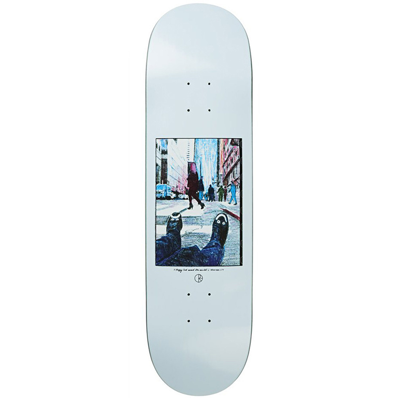 Polar Happy Sad New York City Skateboard Deck 8.5