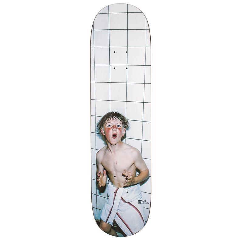 Polar Hjalte Halberg Bath House Skateboard Deck 8.0