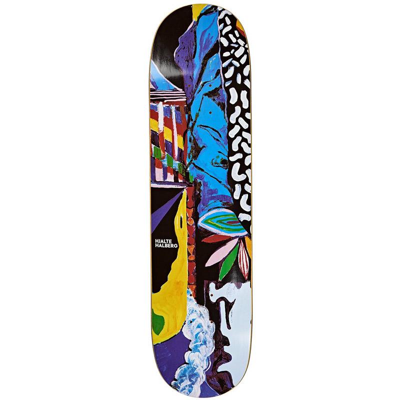 Polar Hjalte Halberg Memory Palace Skateboard Deck 8.0