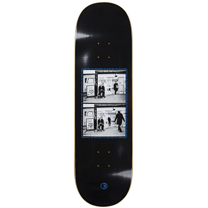 Polar Klez Kidney For Sale 2.0 Skateboard Deck Black 9.0