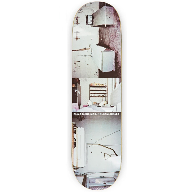 Polar Klez Rehabilitation Center Skateboard Deck Grey 8.125