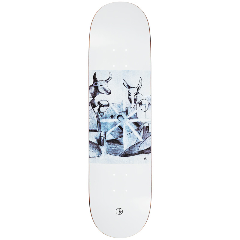 Polar Marta Alv Betlehem Skateboard Deck 8.375