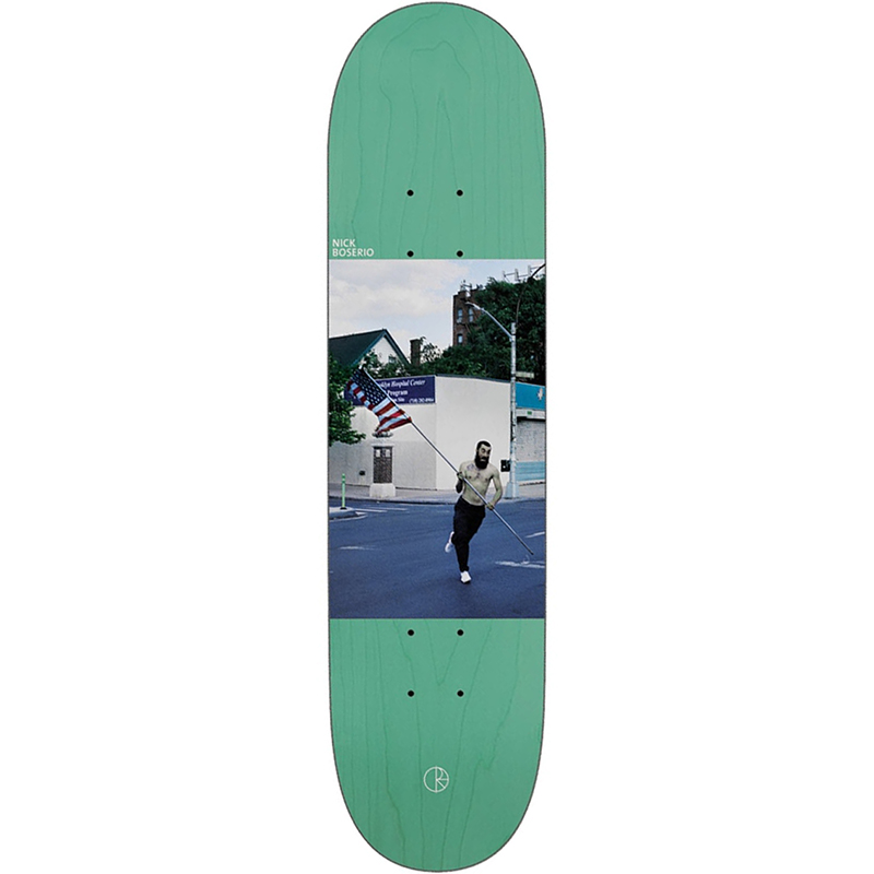 Polar Nick Boserio America Skateboard Deck 8.125