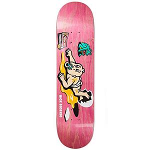 Polar Nick Boserio Cleo Skateboard Deck Assorted Colours 8.0