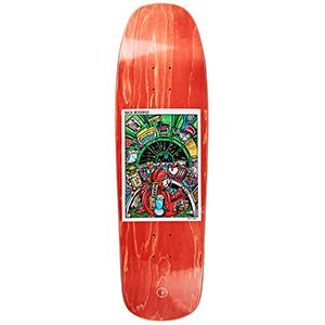 Polar Nick Boserio Earth Attack Skateboard Deck Assorted Colours 1992 Shape 9.25